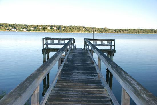 Anchorage on the Cove: The Cove's private dock