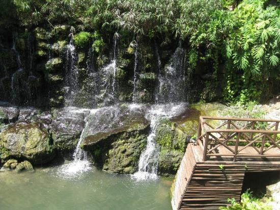 Iberostar Tucan Hotel : chute d'eau au buffet