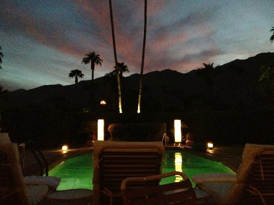 The Hacienda at Warm Sands: Front Pool at Sunset