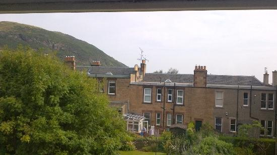 Airdenair Guest House: View of Arthur's Seat