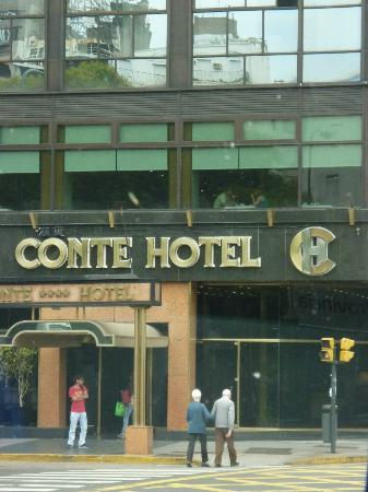 Conte Hotel: frontis