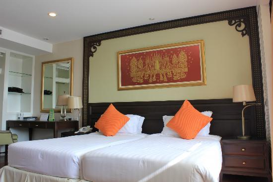Centre Point Hotel Silom: bed