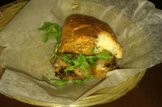 Buon Cibo : 1/2 of friend's sandwich