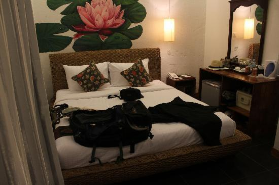 Monsoon Boutique Hotel: The bedroom