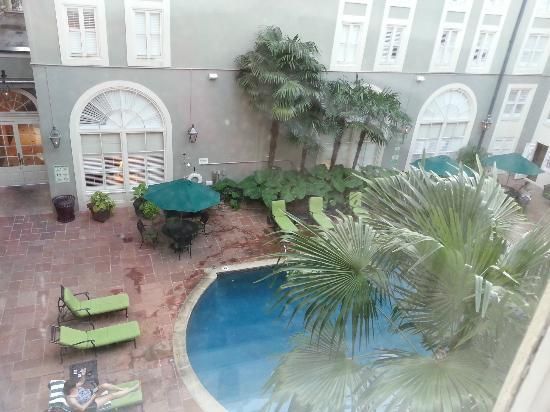 Bourbon Orleans Hotel: Room view...it was better in person