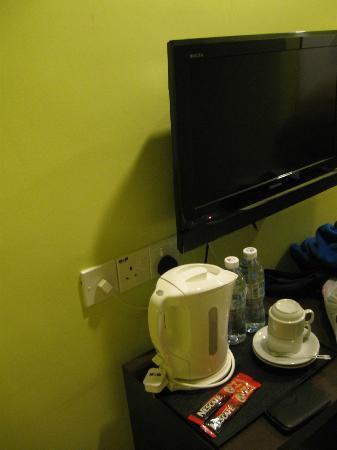 Bary Inn : TV, kettle, mineral water
