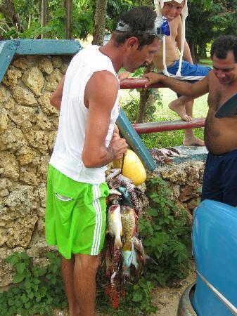 Playa Ancon: pescado