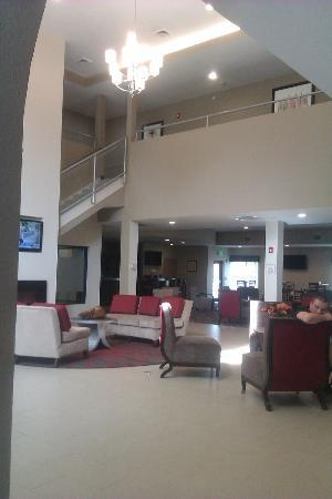 the lobby picture of la quinta inn suites verona. Black Bedroom Furniture Sets. Home Design Ideas