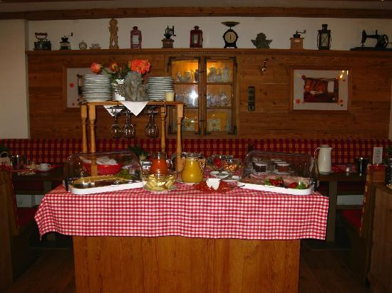 Gasthaus zur Post: Breakfast Area
