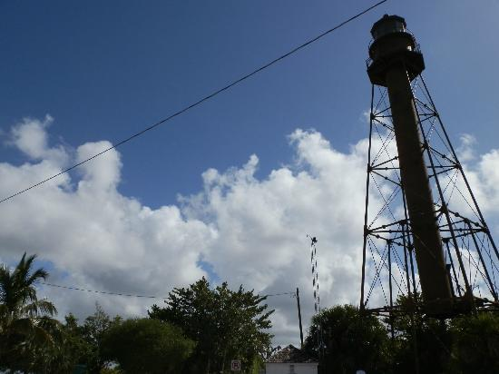Sanibel Island Lighthouse: light house and clouds