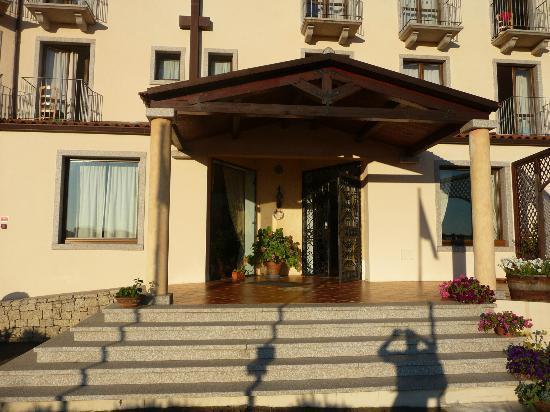 Hotel Santrano: Ingresso hotel