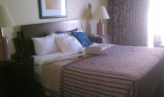 Days Inn Atlantic City Oceanfront-Boardwalk: Nice clean bright room!