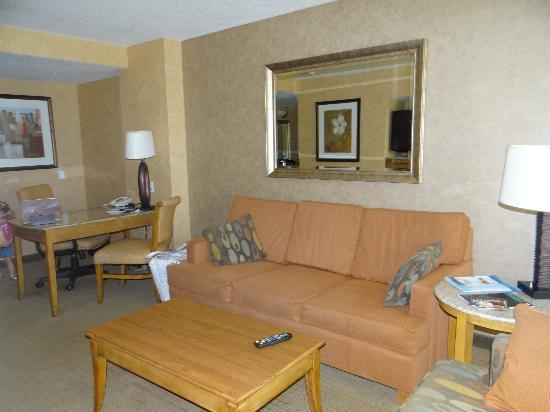 Doubletree Suites by Hilton Hotel Anaheim Resort - Convention  Center: Living area