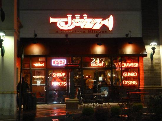 Jazz A Louisiana Kitchen: Front of Restaurant