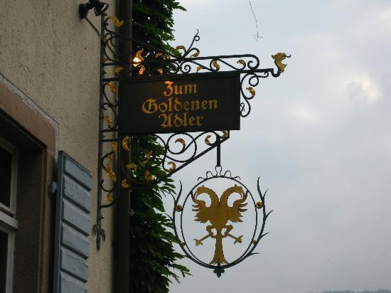 Schwarzwaldgasthof Zum Goldenen Adler: Hotel Sign