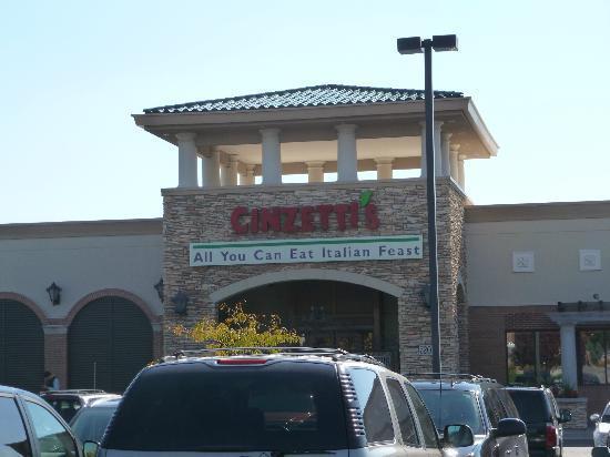 Cinzetti's: Front of Restaurant