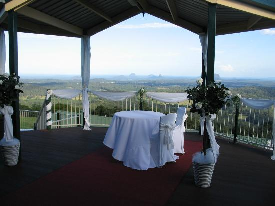 Tranquil Park Mountain Resort: ceremony photo