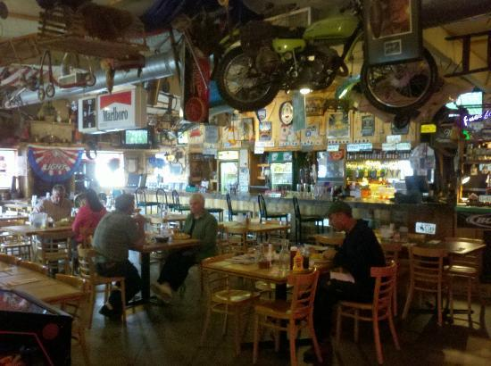 Coyote Cantina: Interior of the back bar