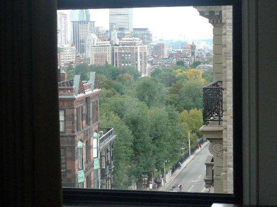 XV Beacon: View of the Boston Commons from our room
