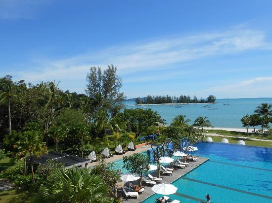The Danna Langkawi: View from our room - Viceroy Seaview