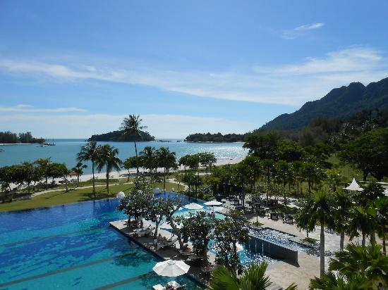 The Danna Langkawi, Malaysia: View from our room - Viceroy Seaview