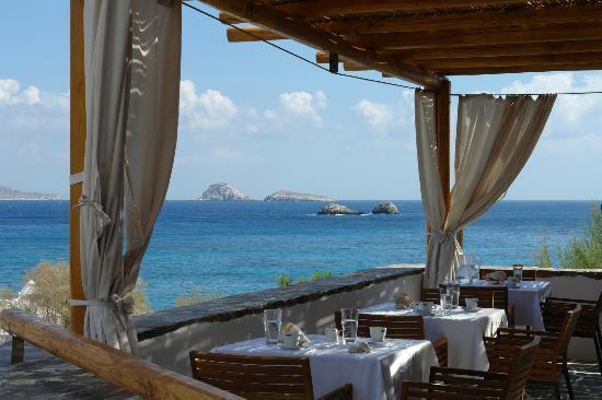 Vegera - Vrahos Restaurant: υπεροχη θεα