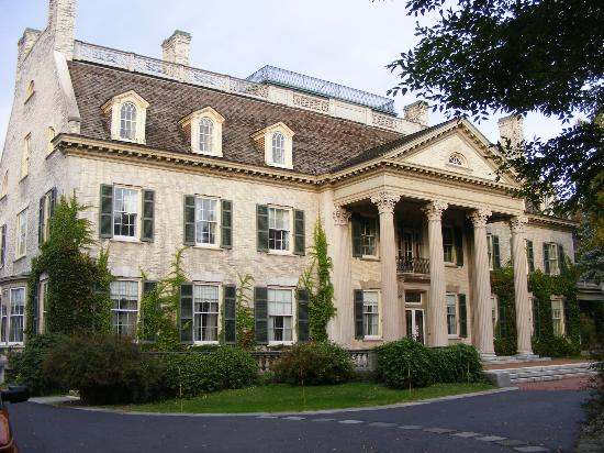 George Eastman Museum: The mansion is 35,000 square feet, with 50 rooms, 15 bedrooms, 9 fireplaces and 13 baths.