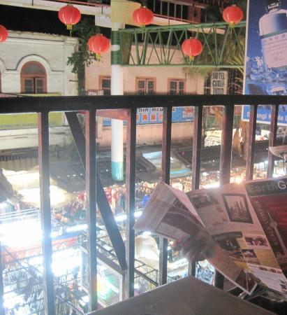 Petaling Street Hotel : terrace view