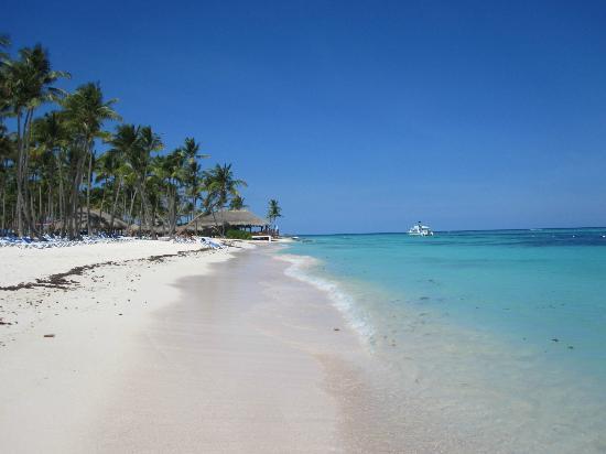 Club Med Punta Cana: la plage - vue direction bar de plage