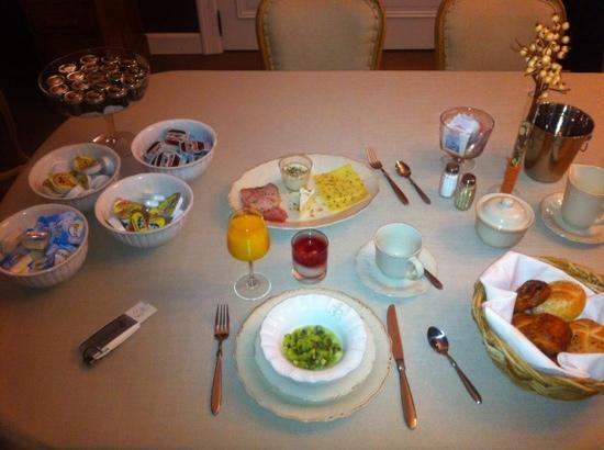 B&B Cimbarsaca: vorstelijk ontbijt