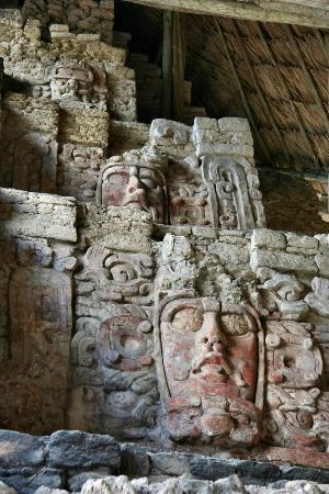 Quintana Roo, Mexico: Temple of Masks