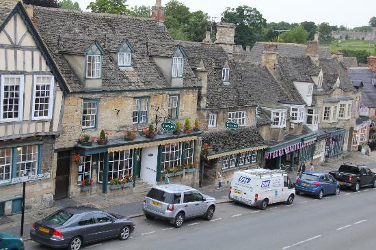 View along the street from the Bull at Burford