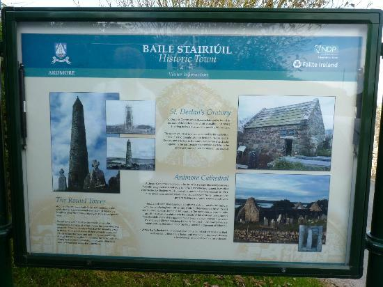 Waterford County Museum: Ardmore sign