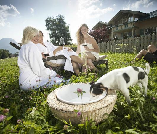 Panoramahotel Oberjoch: Garten