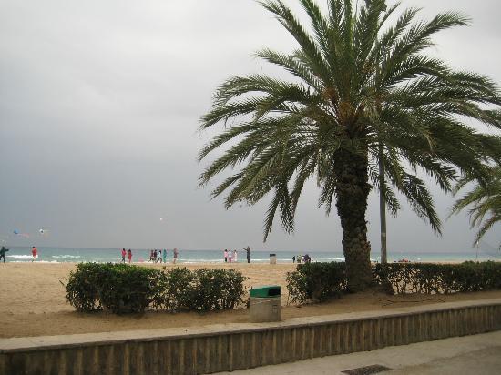 Calafell, España: un poco de tormenta