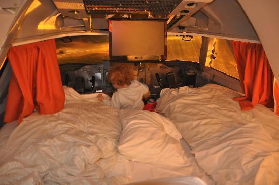 Jumbo Stay: La suite en la cabina del piloto