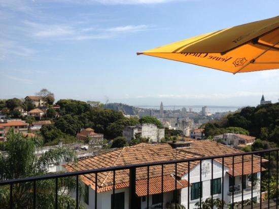 Santa Teresa Hotel RJ MGallery By Sofitel: vue de la terrasse