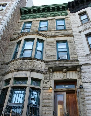 Candy Hill Harlem: The building in the 408 Convent Avenue