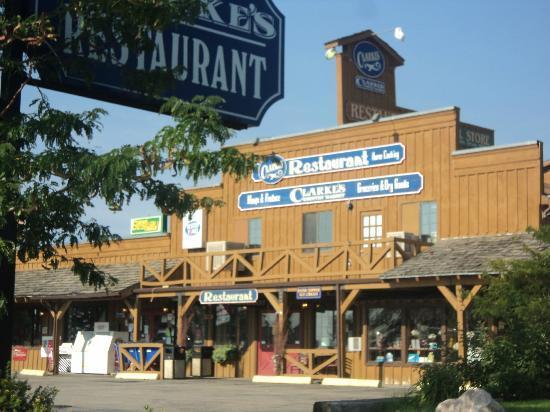 L 39 esterno del ristorante foto van clarke 39 s restaurant for L esterno del ristorante sinonimo