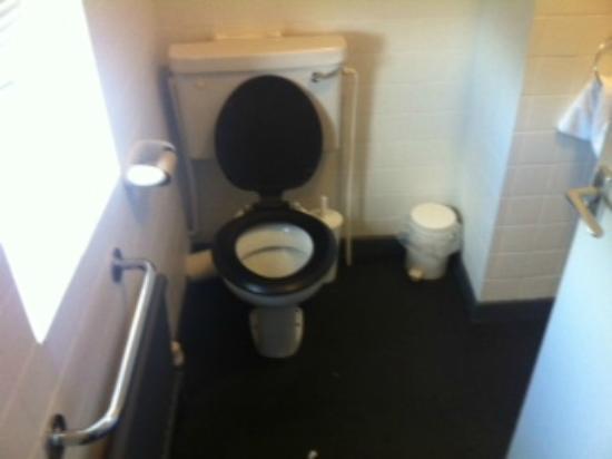 Ambassador Hotel: 1970's toilet