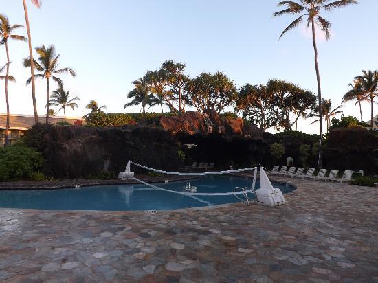 Kauai Beach Resort Pool Volleyball