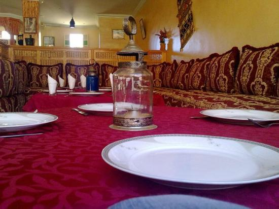 Restaurant La Kasbah: moroccan salon on la kasbah tafraout