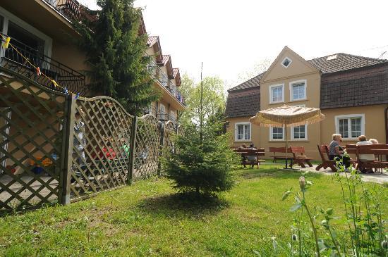 Rewal, Polen: ogród