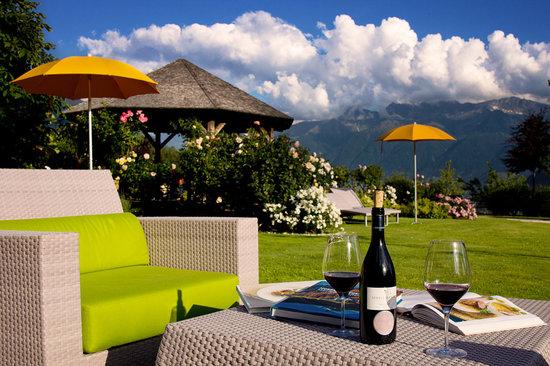 Garberhof Beauty & Wellness Resort: Gartenanlage
