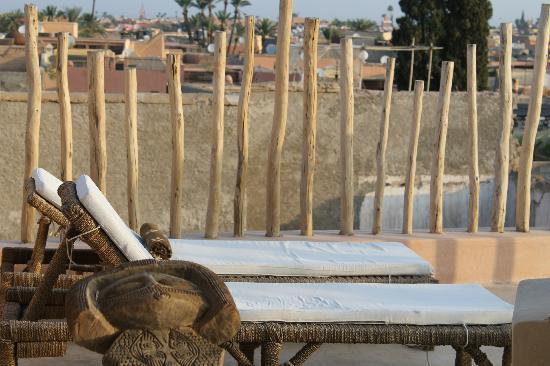 Riad 144 Marrakech: toit terrasse