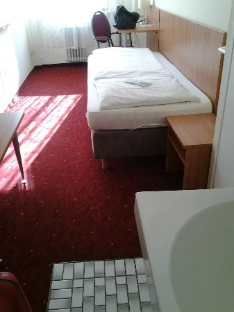 Hotel Continental: Habitación individual