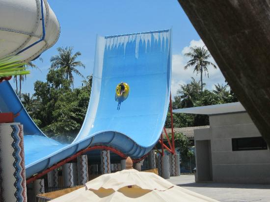 Centara Grand West Sands Resort & Villas Phuket: Fun slide at waterpark