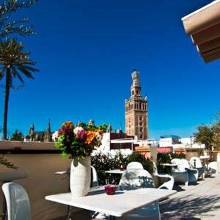 Terraza Fulton Picture Of Hotel Palacio Alcazar Seville