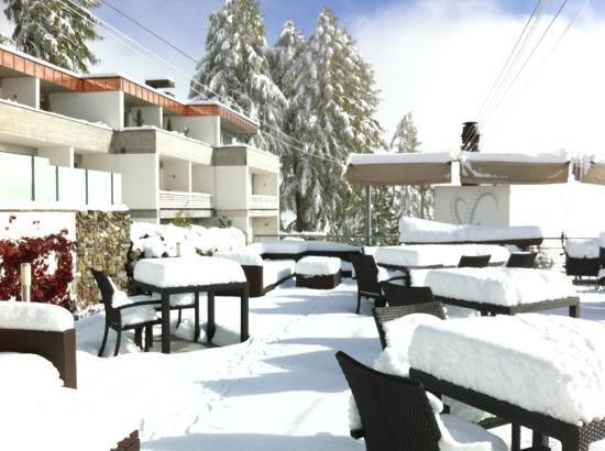 هوتل باراديس: Hotel Paradies,Ftan 