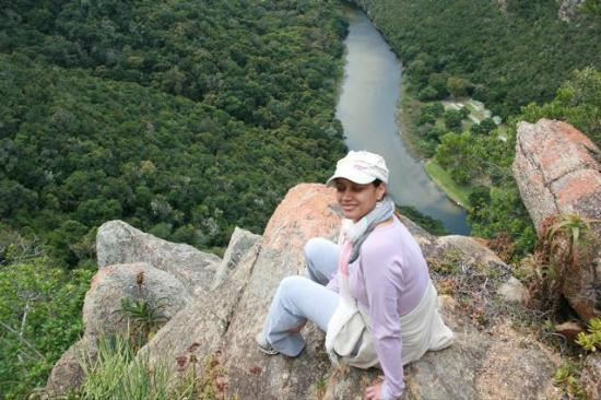 SANParks - Wilderness National Park - Forest Cabins: Overlooking river from hike